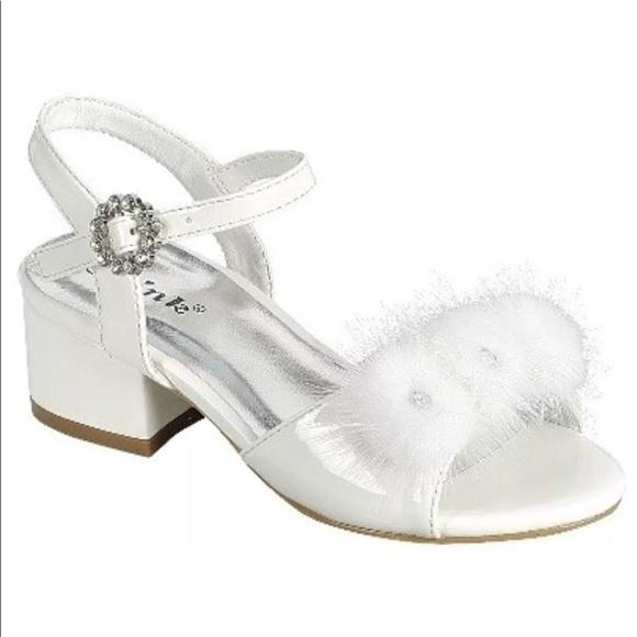 f27bff86b41 Girls Toddler Block Heel Ankle Strap Dress Shoes